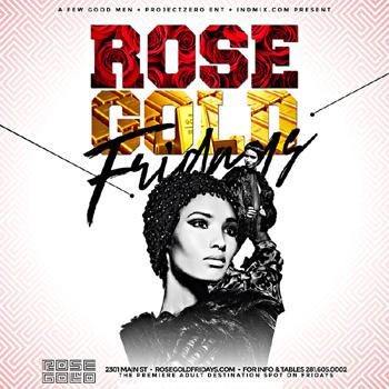 Rose Gold Cocktail Den
