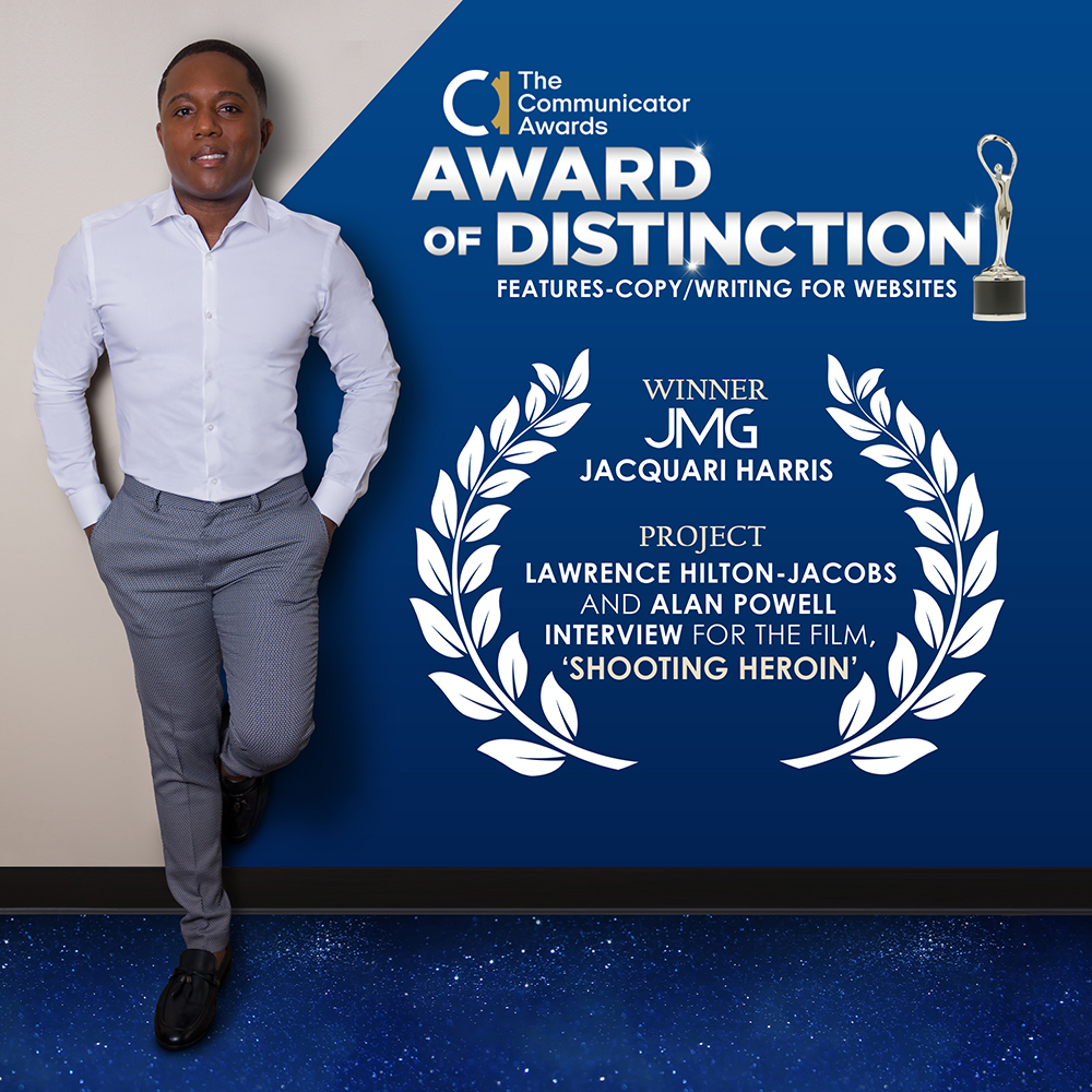 Jacquari Harris wins 2021 Communicator Award