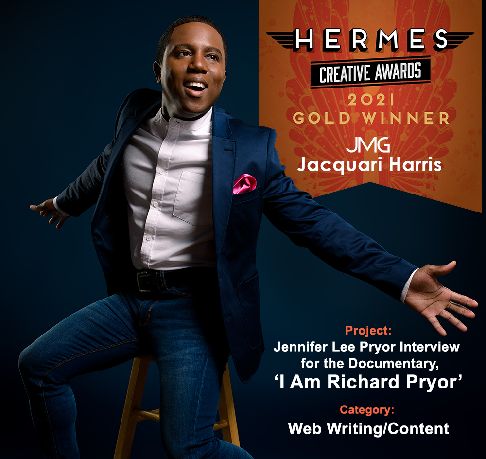 Jacquari Harris wins 2021 Hermes Creative Award